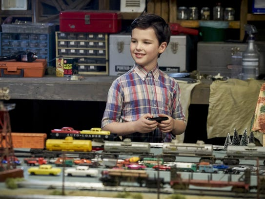 This image released by CBS shows Iain Armitage in a
