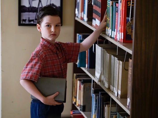 Iain Armitage as Sheldon on 'Young Sheldon.'