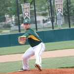 McNicholas' Sam Browning took a shutout into the 7th inning May 20, 2015, and eventually beat Wyoming 6-1 in a complete game tournament victory.