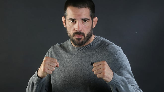 UFC fighter Matt Brown says he's going to fight as long as he can.