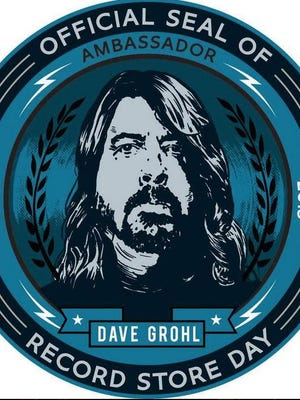 Dave Grohl, lead singer of the Foo Fighters is the official Ambassador of Record Store Day 2015
