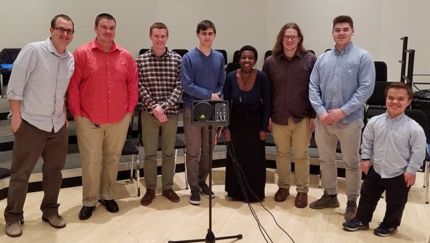 The Rutgers Interactive Music Ensemble (RIME).
