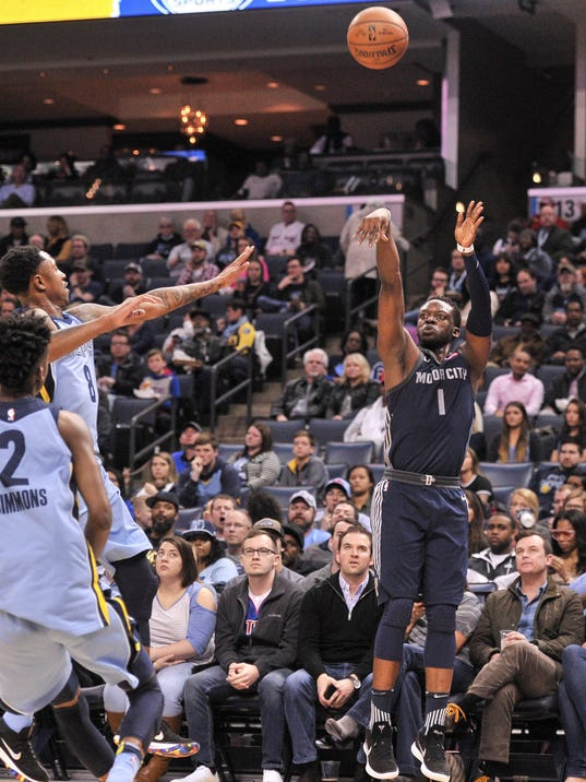 NBA: Detroit Pistons at Memphis Grizzlies