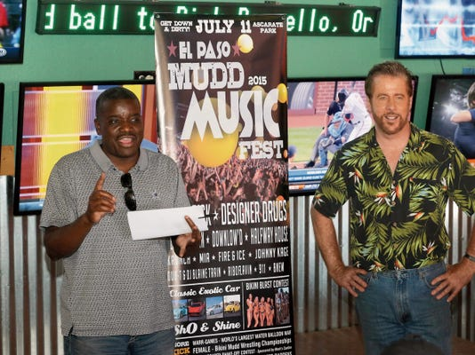 Longtime jazz musician Billy Townes and festival organizer Pat Devlin announce the details of the 2015 El Paso Mudd Music Fest on July 11 at Ascarate Park.