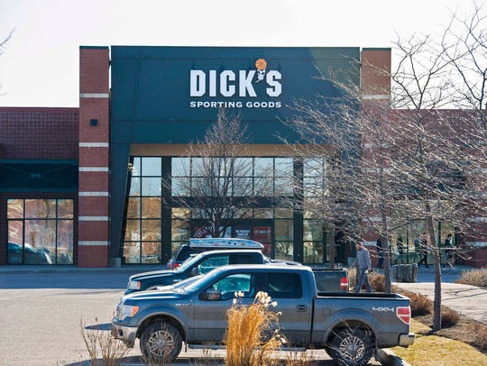 Dick's Sporting Goods in Williston on Wednesday, February