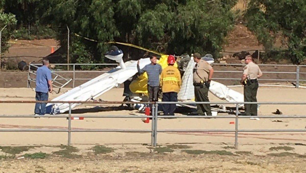 Victims of Santa Rosa Valley plane crash were father, son