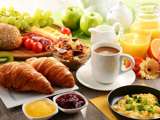 Some people enjoy a bigger breakfast.