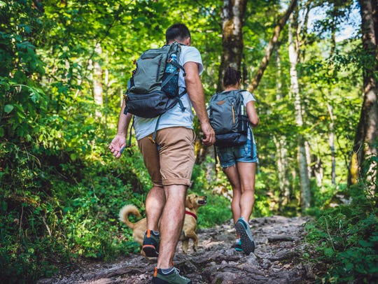 Go on a hike with your dad.