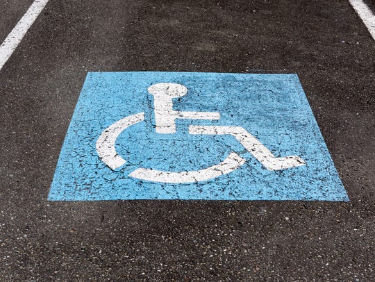 An argument over a handicapped parking spot turned