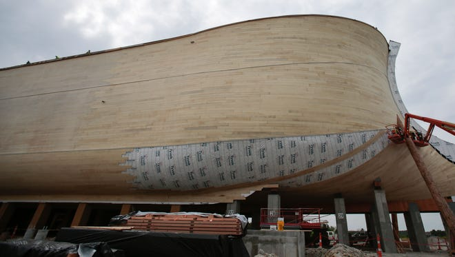 The Ark Encounter is 510 feet long, 85 feet wide and 51 feet high.