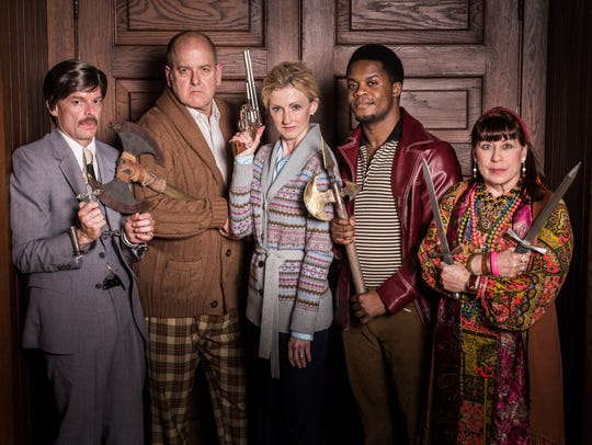 From left, the cast of Milwaukee Chamber Theatre's
