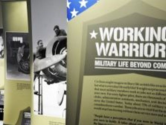 """""""Working Warriors: Military Life Beyond Combat,"""" a"""
