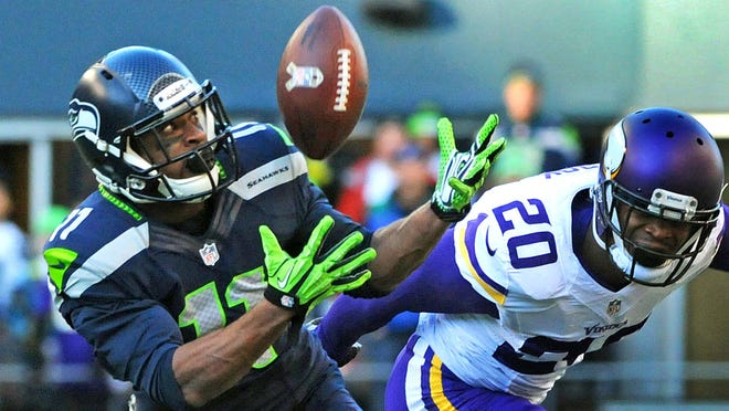 WR Percy Harvin has flashed his unique skills for the Seahawks this season but very rarely.
