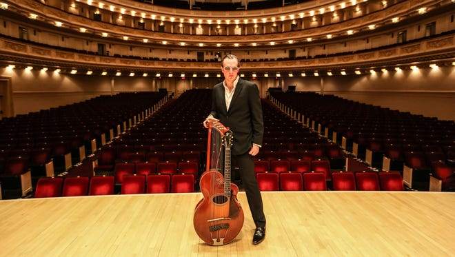 Joe Bonamassa says he'd rather play a small theater than a huge arena any day. Here he is at Carnegie Hall. He plays Barbara B. Mann Performing Arts Hall next week in Fort Myers.