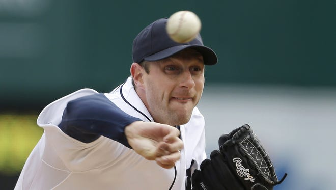 Agent Scott Boras is no telling teams what a great pitcher Max Scherzer is, he's trying to sell them on the narrative that Scherzer could many good teams over the top.