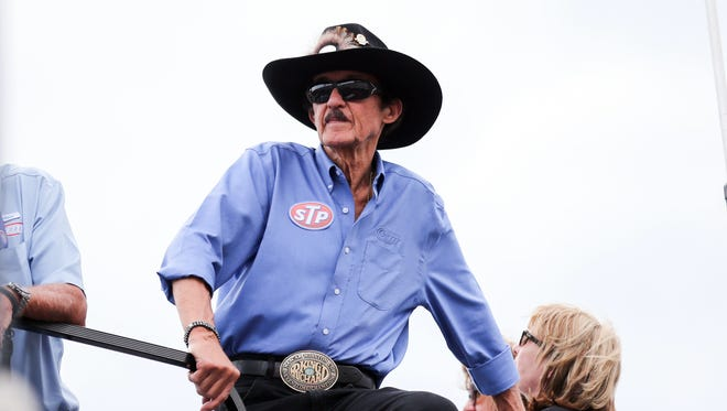 Richard Petty recalled visiting American troops during the Vietnam War in the early 1970s.