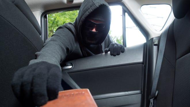 Cayuga Heights police received reports of numerous thefts from cars Tuesday night.