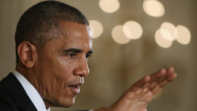 President Obama on Wednesday.