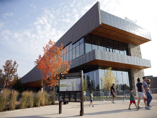 Titletown District's plaza and park opened to the public