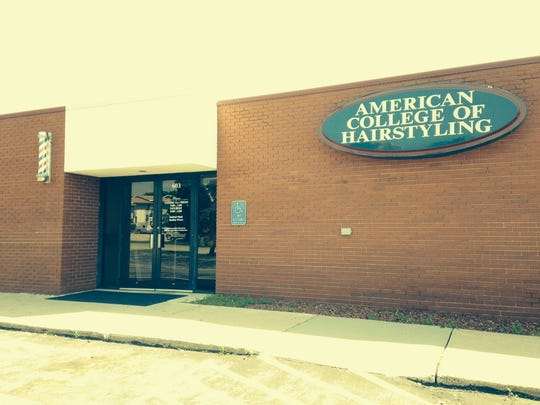 The American College of Hairstyling is in Des Moines' East Village neighborhood.