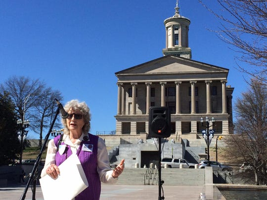 Beverly Sweeton spoke at The Tennessean's Sunshine