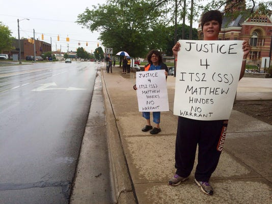 Adrian protest