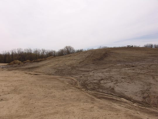 Beaver Materials is building a tubing hill at Strawtown Koteewi Park.