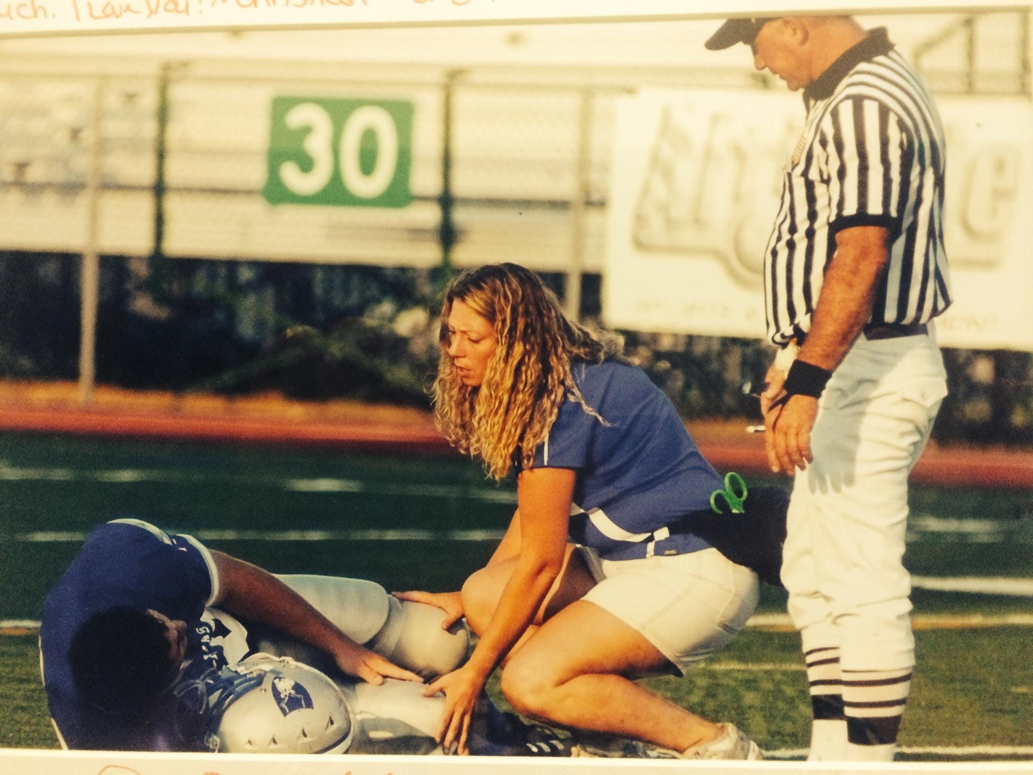 Carey Christensen spent the last 16 years as the athletic trainer at Poudre High School.