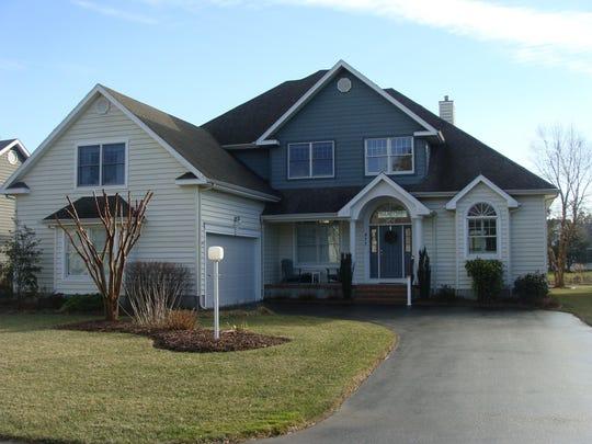 Ron and Helen Stevens' home in Salt Pond.