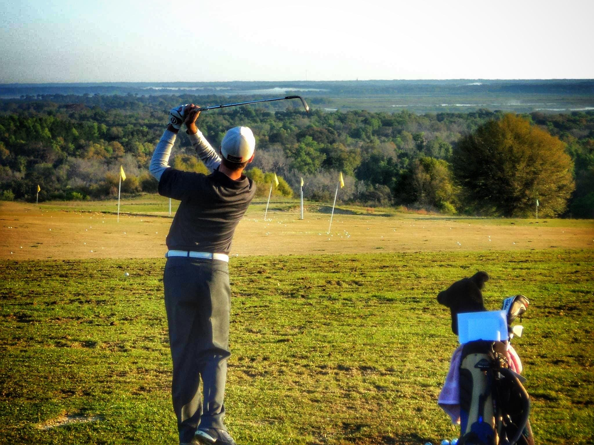 Former Florida High golfer Henry Westmoreland plays a round at Sugar Loaf. Westmoreland, now a sophomore at the University of West Florida, was the 2012 All-Big Bend Golfer of the Year and a three-time first team pick.