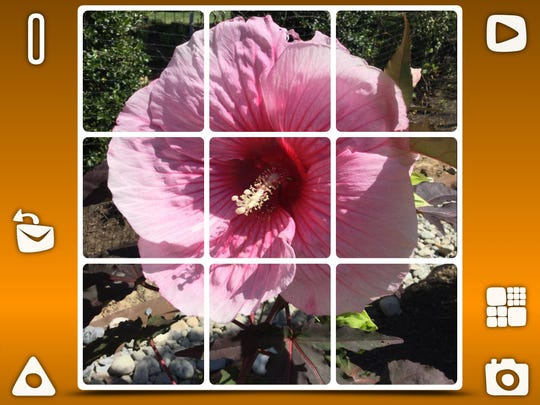 "Children can turn their vacation photos into puzzles in ""Phlip,"" a clever puzzle app."