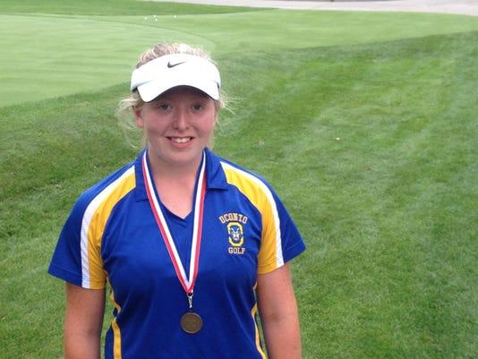 Meg Ryan Waupaca medal winner