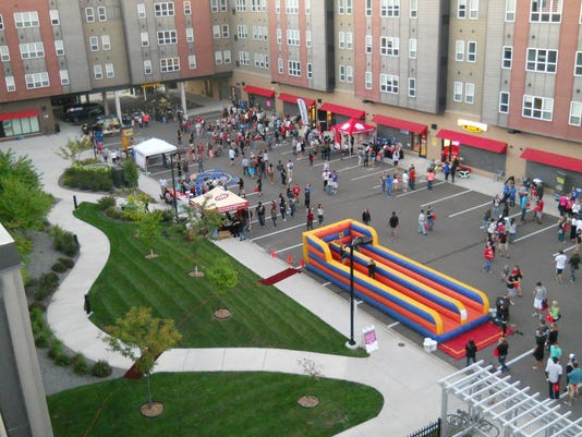 Block Party Courtyard