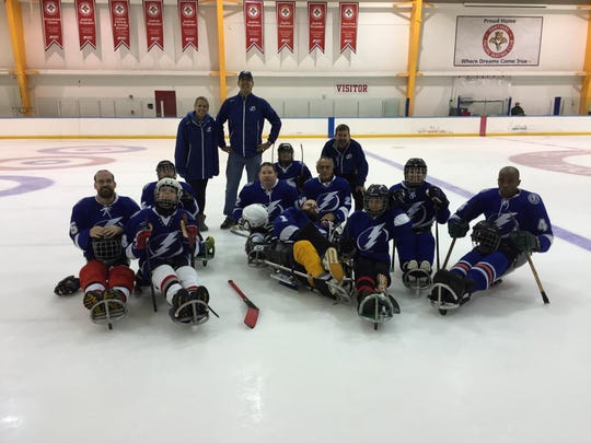 The Tier IV Tampa Bay Lightning team picture. From