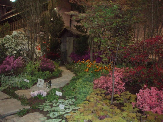 The Philadelphia Flower Show includes a variety of plants, including annuals, perennials and more.