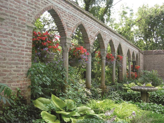 Falaise, like much of Sands Point Preserve, includes incredible gardens and structural features.