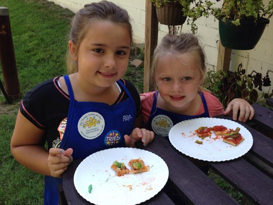 Radisyn and Rilyn - Kids Cooking Camp 2016