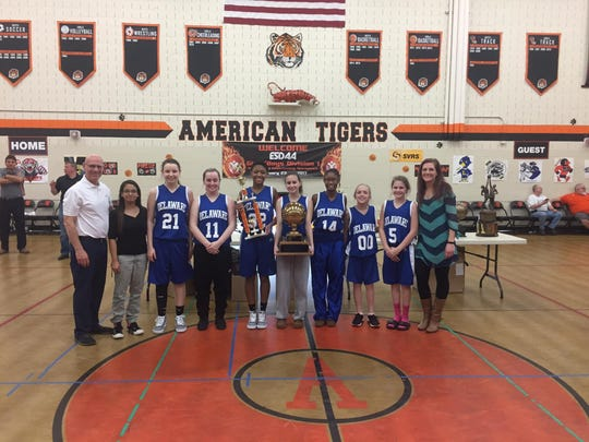 The Delaware School for the Deaf Girls Basketball team won the Eastern Schools for the Deaf Athletic Association Division I tournament.