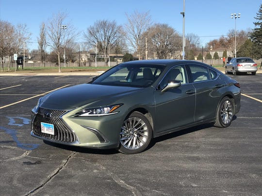 For 2019 Lexus' ES 350 is longer, lower and wider, with sportier performance.