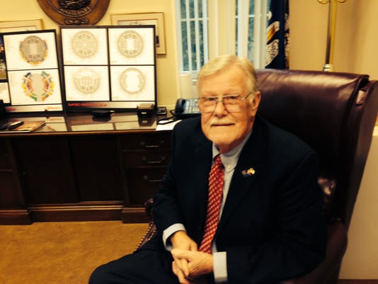 Richard Billings, Police Jury president