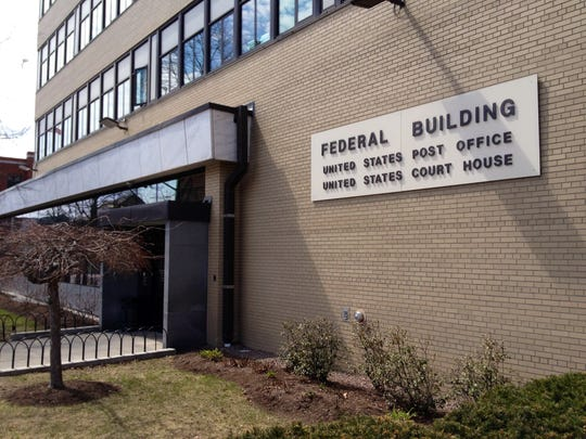 The federal building on Elm Street in Burlington, home of U.S. District Court.