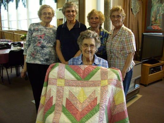 senior quilt