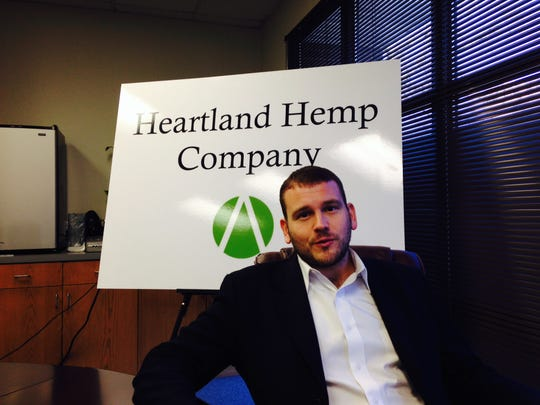 Boris Shcharansky is chief executive officer of Heartland Hemp Co., an Urbandale firm selling hemp oil.