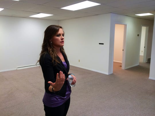 Alexia Wood, executive director of St. John the Evangelist Homeless Shelter, talks about plans for space in The Micah Center. The facility at 700 E. Walnut St. in Green Bay is a daytime resource center expected to work with the area's homeless and financially struggling community.