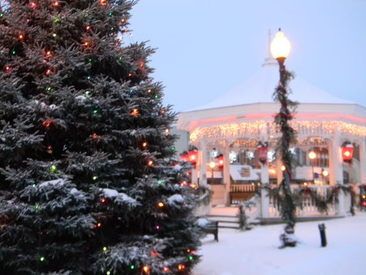 christmas tree and gazebo in background.JPG