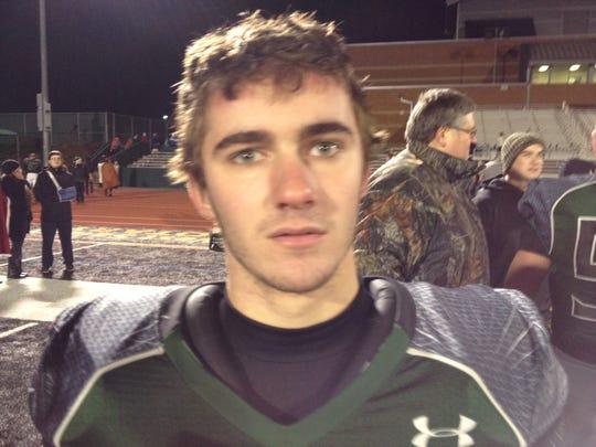West Salem junior Kyle Terry.