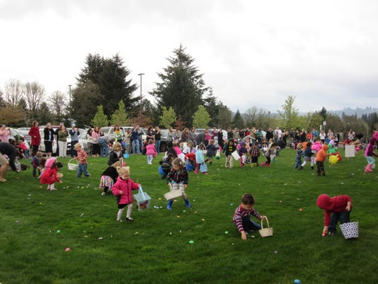 Out and About: East Egg Hunt