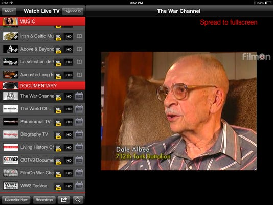 App watch: FilmOn has much more than broadcast TV