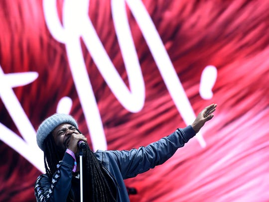 D.R.A.M. performs during the Bonnaroo Music and Arts