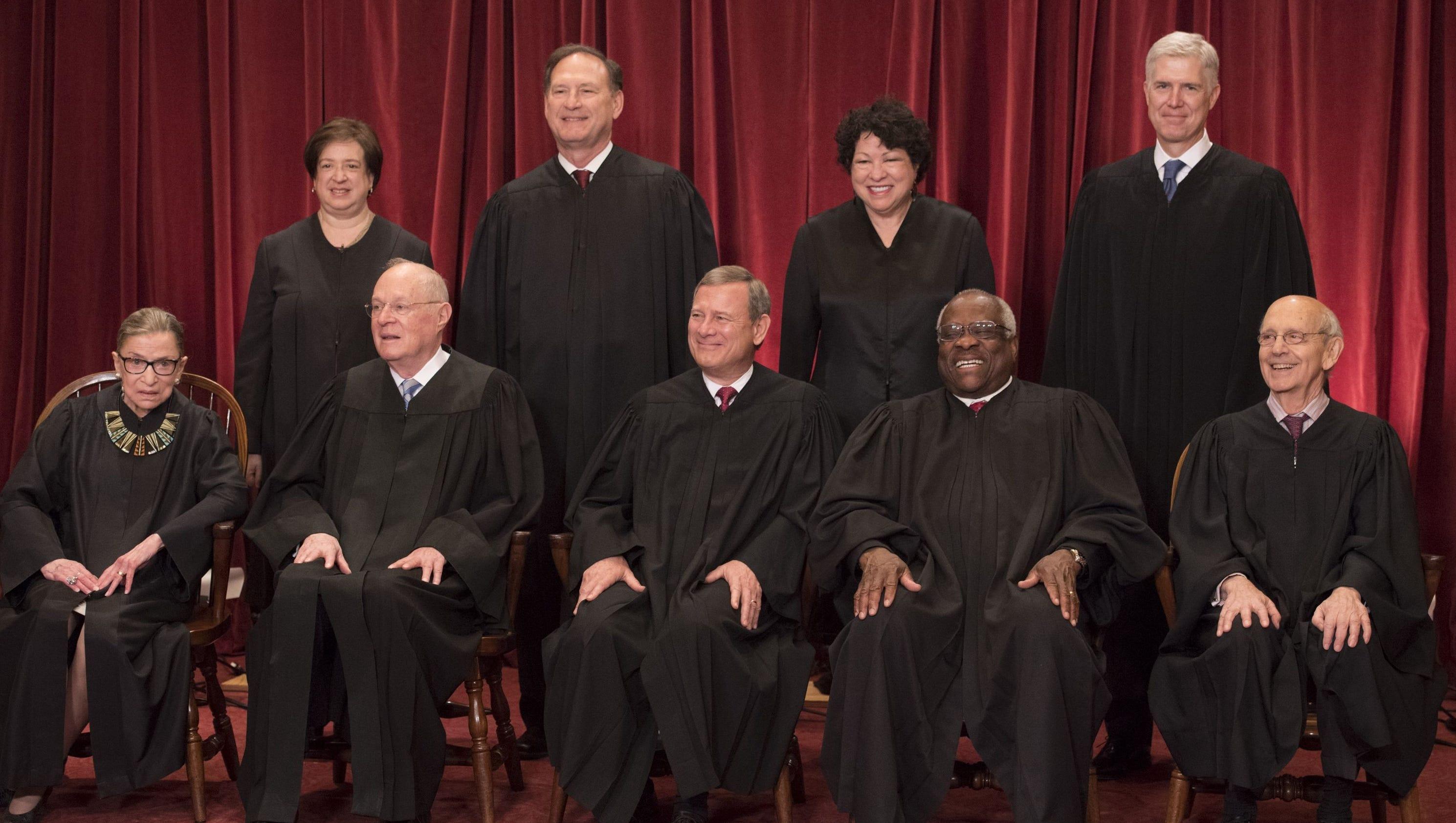 supreme court justices By the end of the argument, the supreme court's conservative majority seemed ready to defer to the president's national security judgments and discount his campaign promises to impose a.
